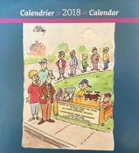 2018 privacy calendar cover