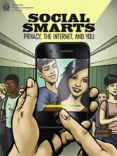 Cover of Social Smarts graphic novel