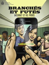 Cover of Social Smarts graphic novel in French