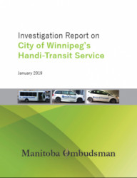 Cover of Handi-Transit report